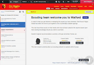 Football Manager 2014 Scouting