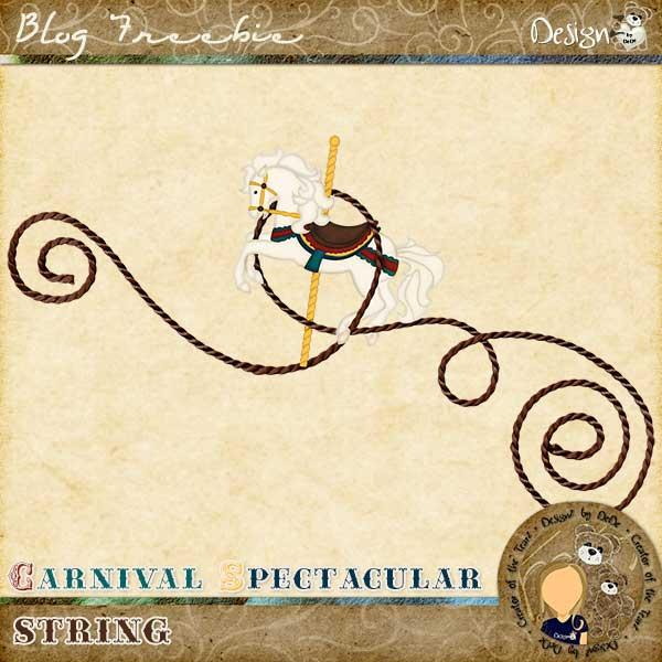 Carnival Spectacular String by DeDe Smith (DesignZ by DeDe)