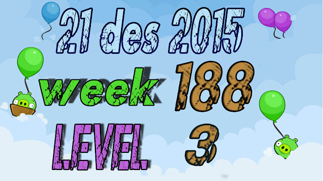 Angry Birds Friends Tournament level 3 Week 188