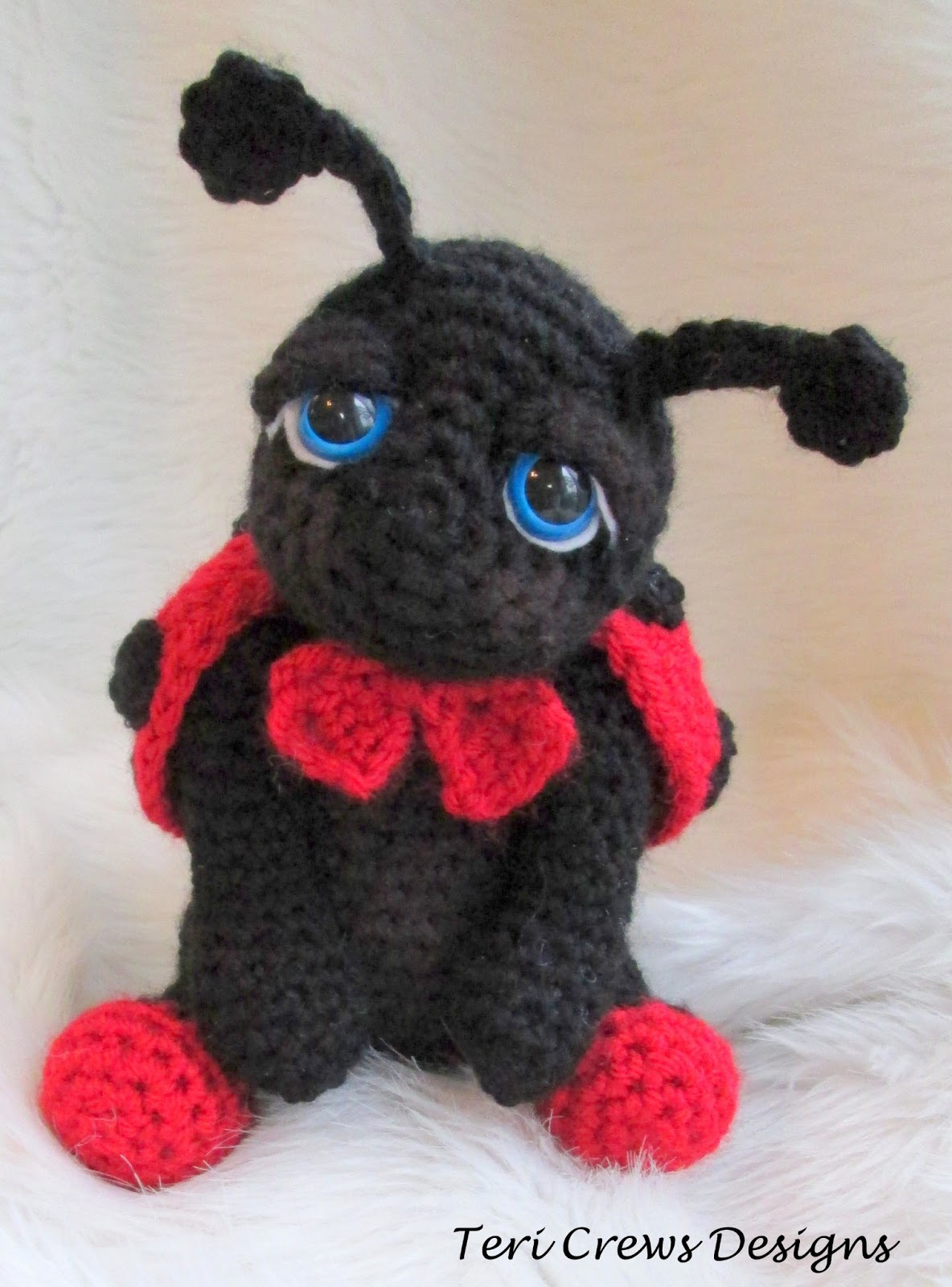 Wool And Whims New Free Cute Ladybug Crochet Pattern