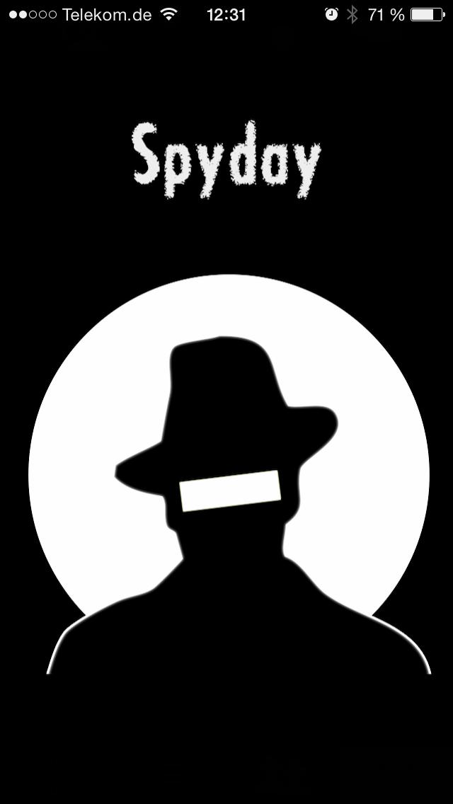 SpyDay SplashScreen