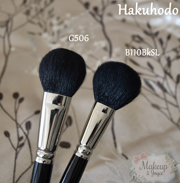 Hakuhodo G506 vs B110BkSL Brush Review
