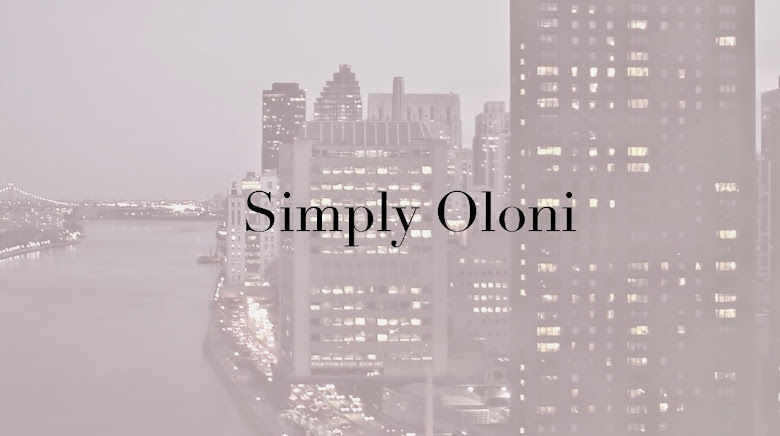 Simply Oloni . . .