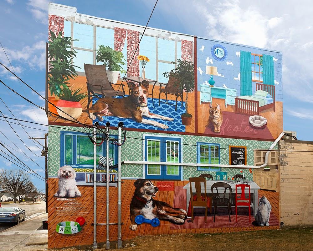 디자인군포 군포벽화 군포시 공공디자인: 벽화의 도시 필라델피아