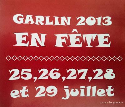 #GARLIN EN FÊTE 2013 #Toros Y #Fiesta 2013