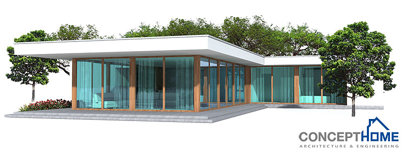 Australian house plans modern australian home ch164 for Cost effective home designs
