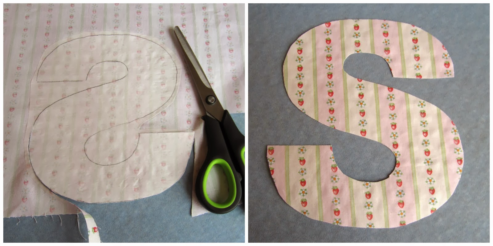 how to cut a cone shape out of fabric
