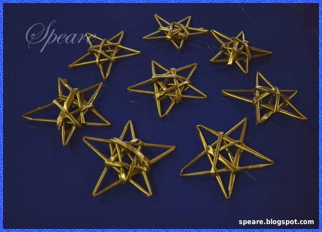 Zapomniane gwiazdki z papierowej wikliny :)