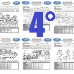 Examen Cuarto grado Bloque I Ciclo Escolar 2015-2016