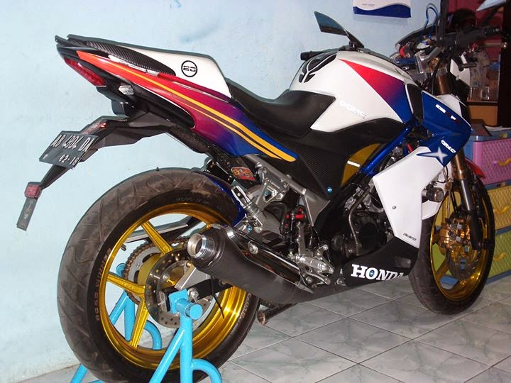 Modifikasi Honda CB150R