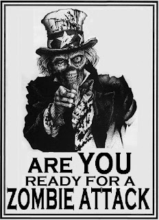 action horror zombie preparedness poster