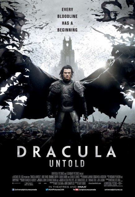 """Dracula Untold (2014)"" movie review by Glen Tripollo"