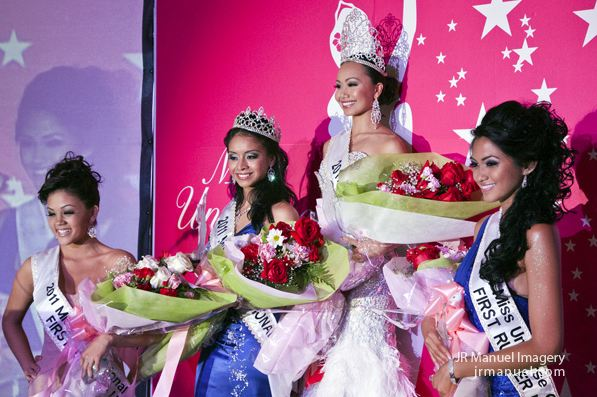 Katarina Martinez was properly crowned as Miss International Guam 2011