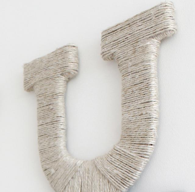 litera, sznurek,jak owijać sznurkiem,ozdoby ze sznurka,DIy zrób to sam, litery DIy majsterkowanie