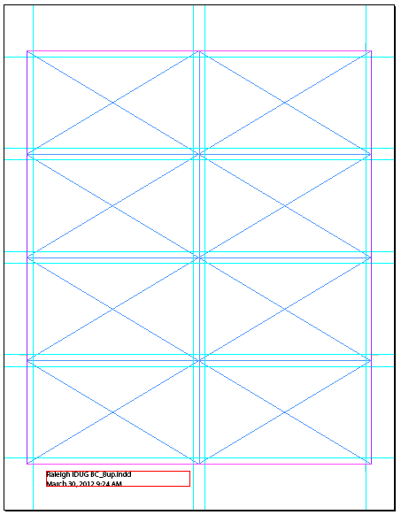 business card template indesign - Khafre