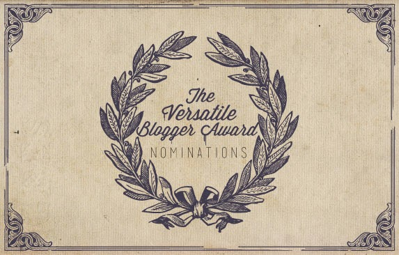 Premio The Versatile Blogger Award Nominatios