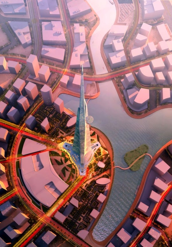 Around the World Kingdom Tower will Replace Burj Khalifa as the Tallest Building in the World