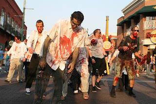 US Military and Government Agencies in Zombies Apocalypse Drill
