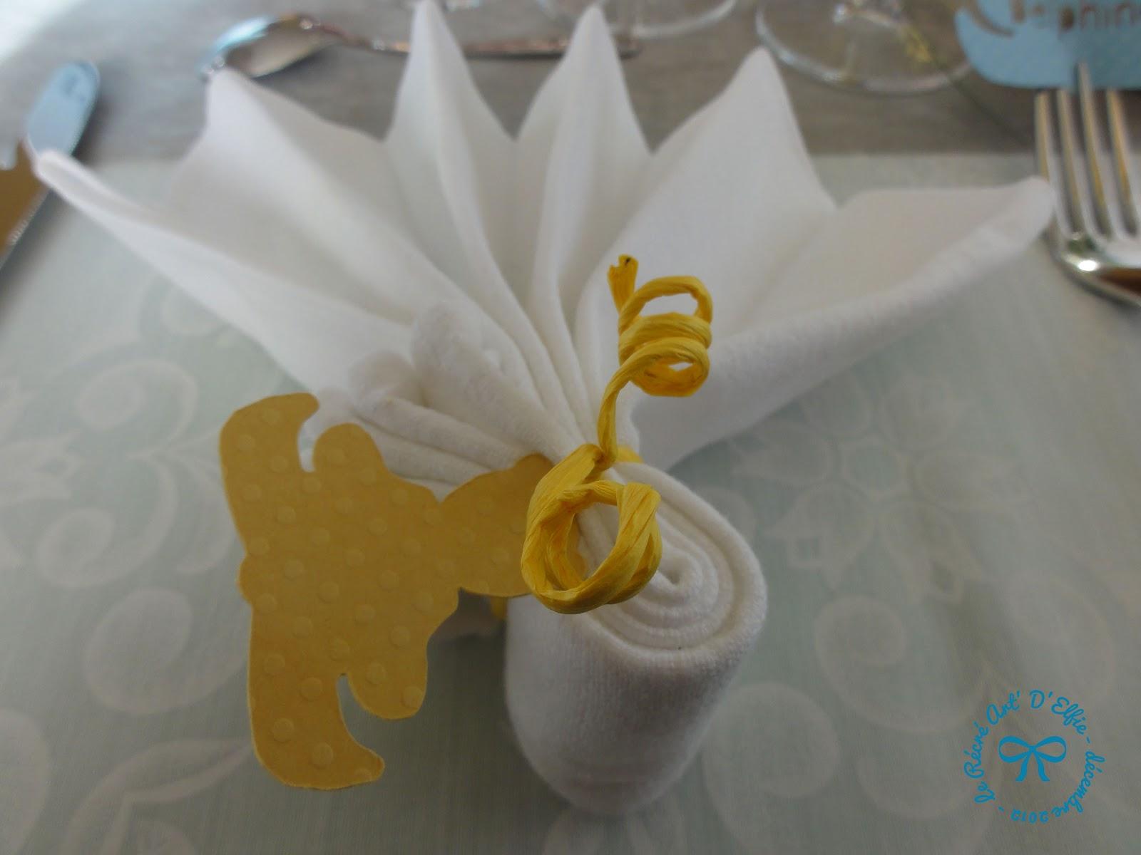 Decoration Avec Serviette De Table Pour Noel
