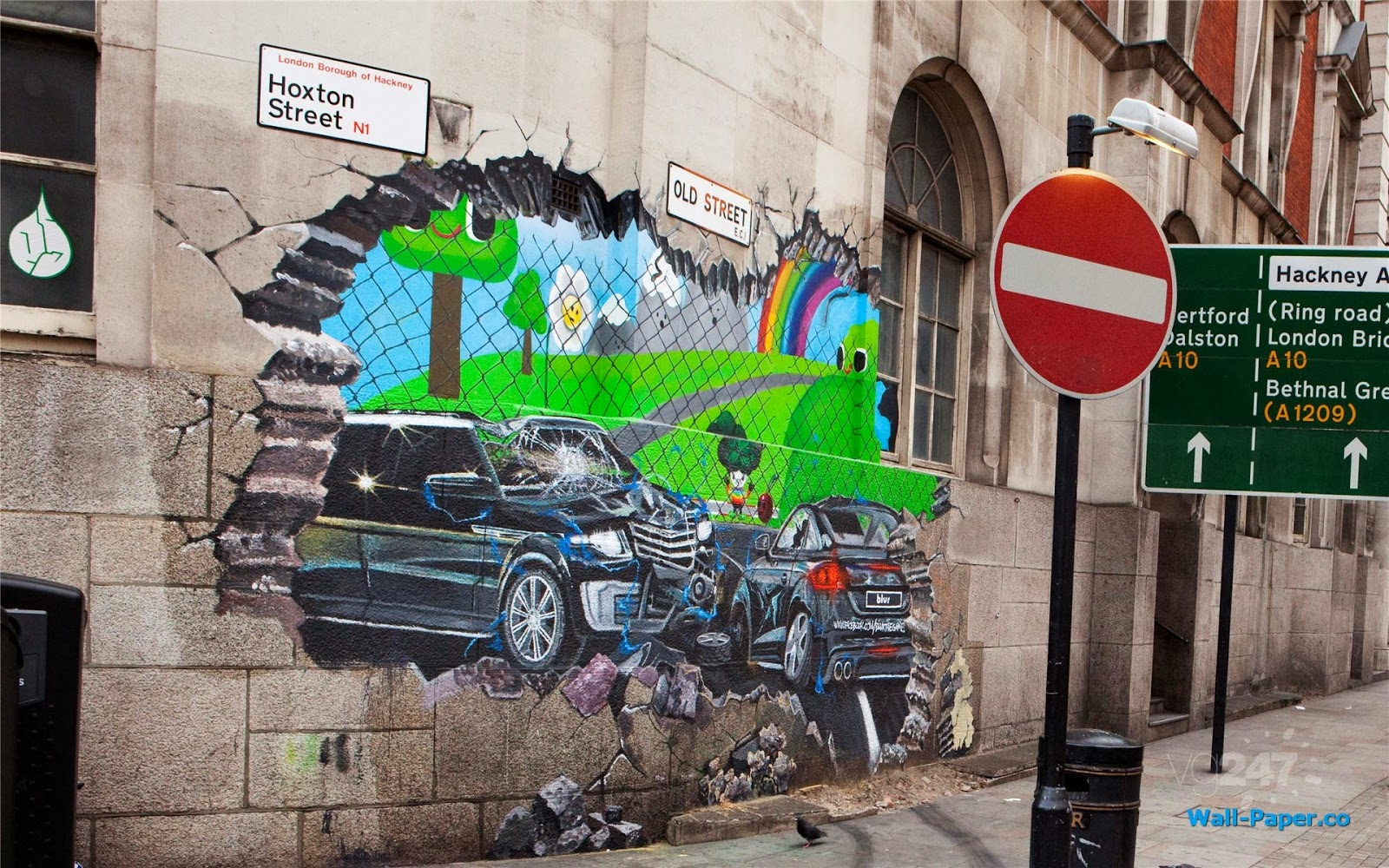 Nice 3d Street Art Wallpapeers 2014 Free Wallpapers Download