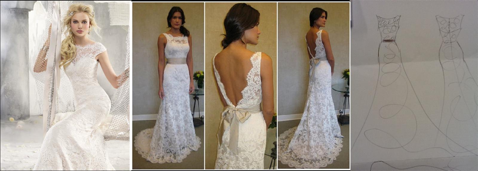 Close Shot Of The Dress