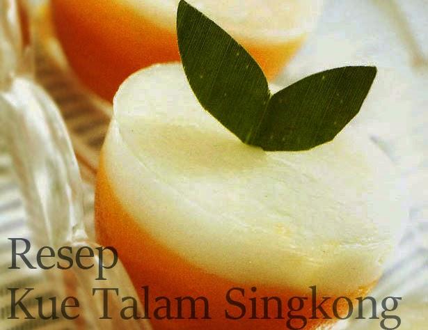 Resep Kue Talam Singkong Praktis | Resep Kue dari Bahan Singkong