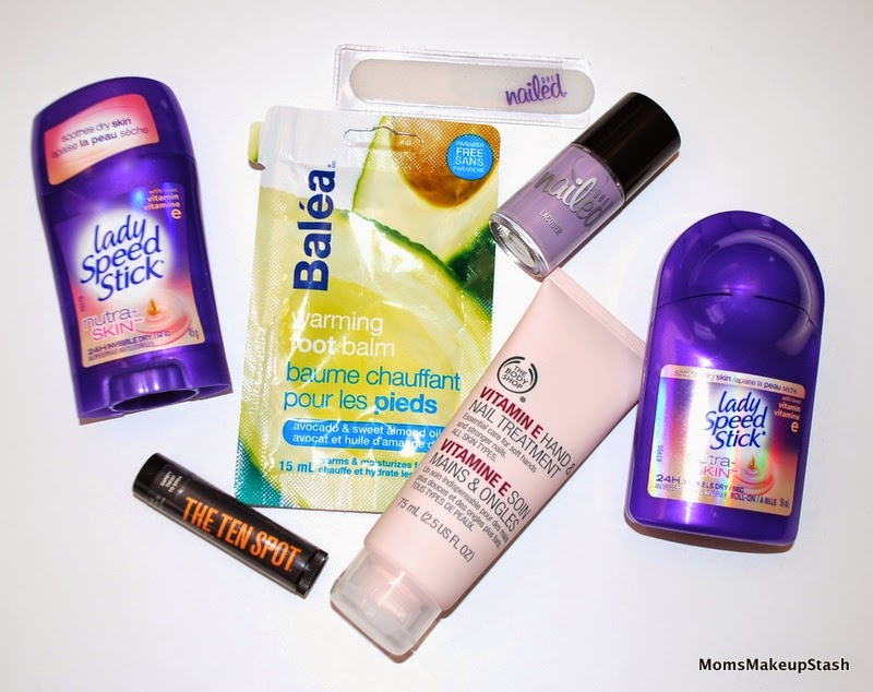 Lady SpeedStick, Thirsty Three, The Ten Spot, Lady SpeedStick Antiperspirants, Beauty Giveaway