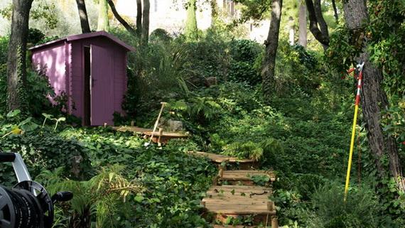 DECO CHAMBRE INTERIEUR: Romantiques idées de décoration du jardin