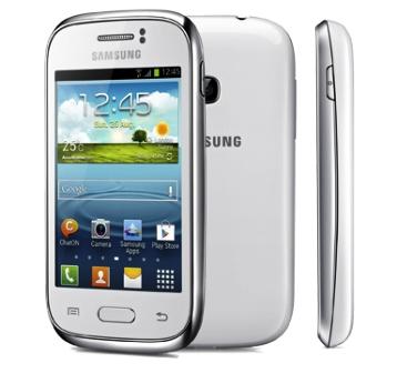 Samsung Galaxy Young  phone design