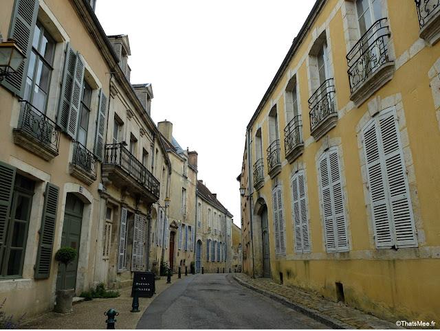 rues de bellême ville perche campagne