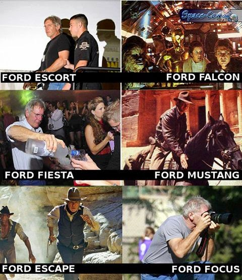 funny celebrities Ford picture