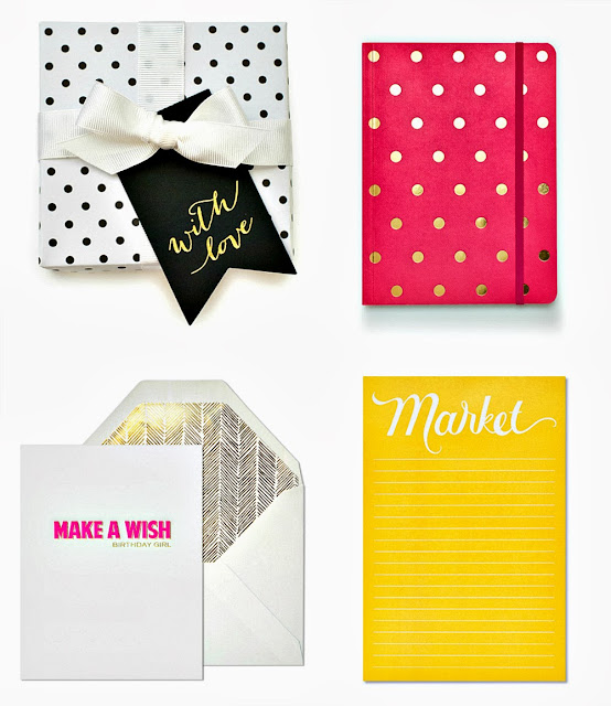 sugar paper stationery
