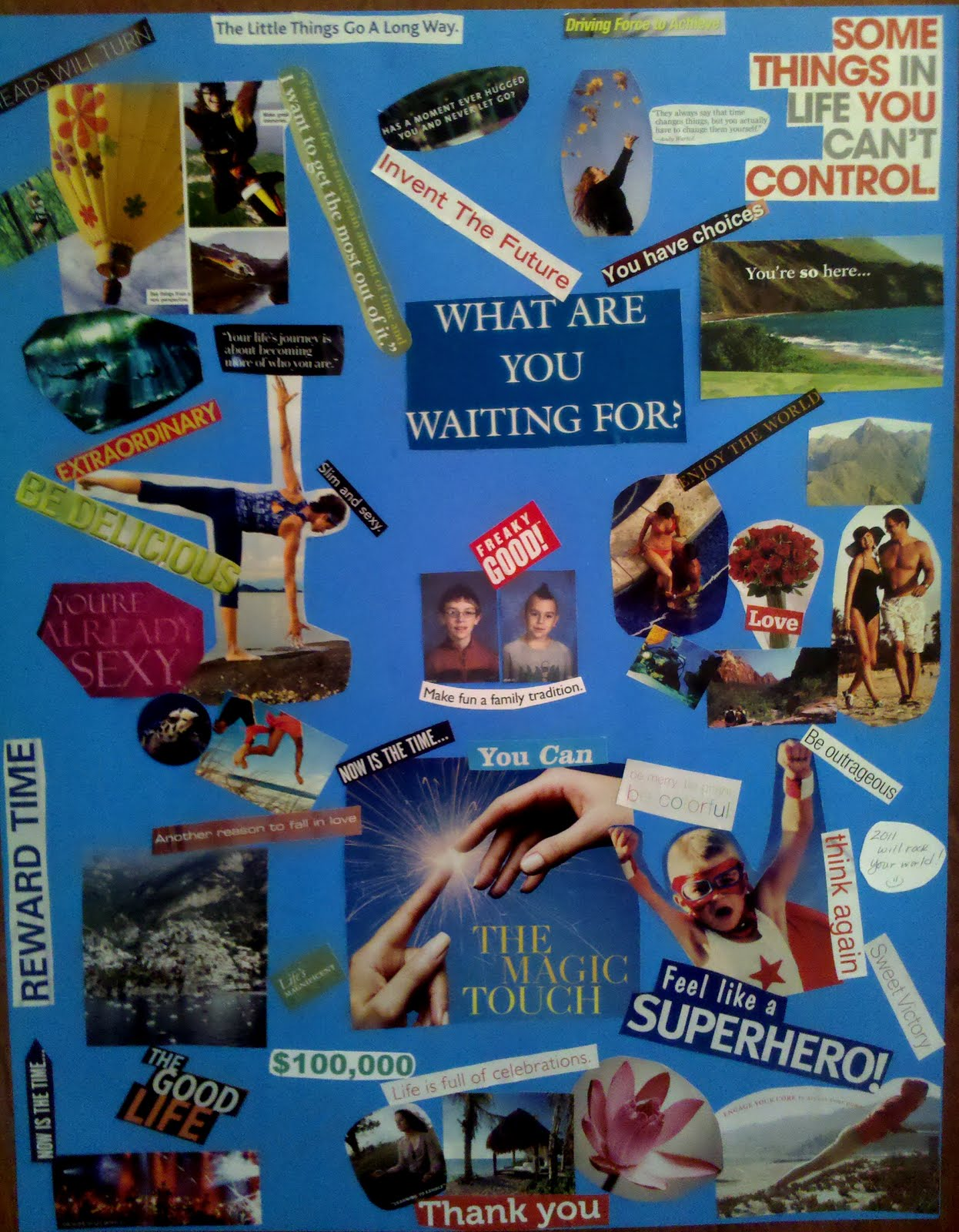 Why You Need A Vision Board For 2011 « TheAfter5Edge