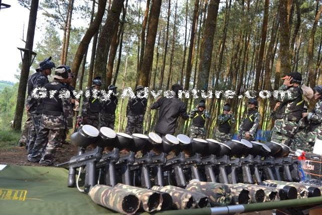Model dan Jenis Senjata Paintball
