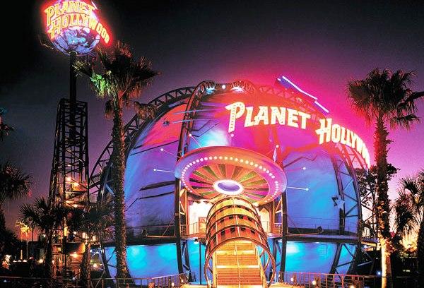 Downtown Disney Planet Hollywood Restaurant