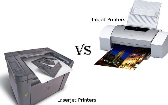 Which to choose in Laserjet Printers VS Inkjet printers ...