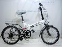 Sepeda Lipat FOLD-X TOKYO Dual Suspensi 20 Inci