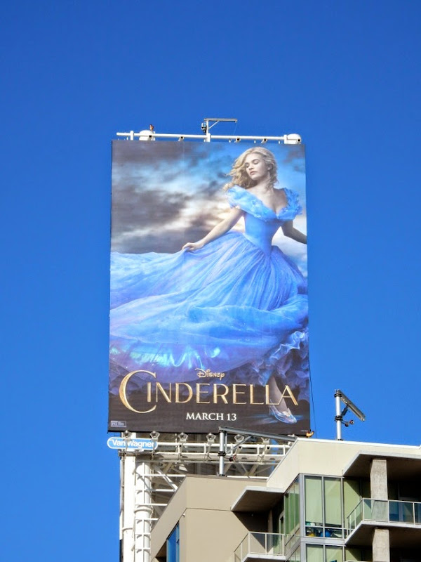 Cinderella 2015 movie billboard