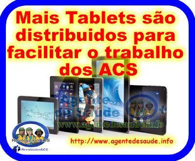 ACS%2Bganha%2BTablet%2Be sus Mais Tablets são distribuidos para facilitar o trabalho dos ACS