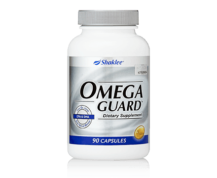 Omega Guard Shaklee melindungi jantung anda.