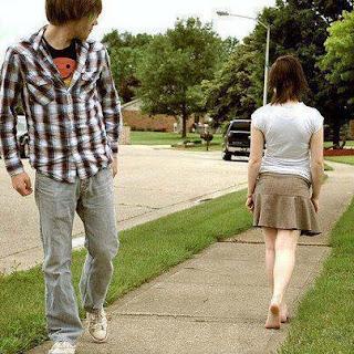 girlfriend leaving her boyfriend