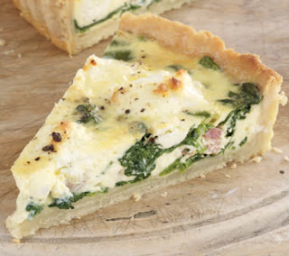 Spinach-and-Goat-Cheese-Tart-Recipe