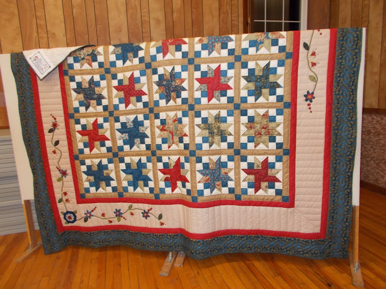 2014 Church Lottery Quilt