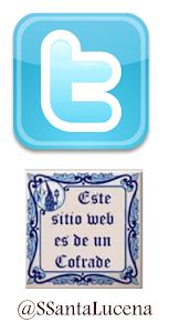 ! Síguenos en Twitter a @SSantaLucena!