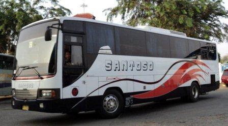 Nomor Telepon Agen Bus Santoso