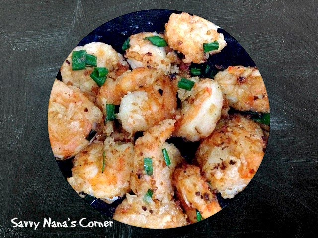 Salt & Pepper Shrimp Recipe
