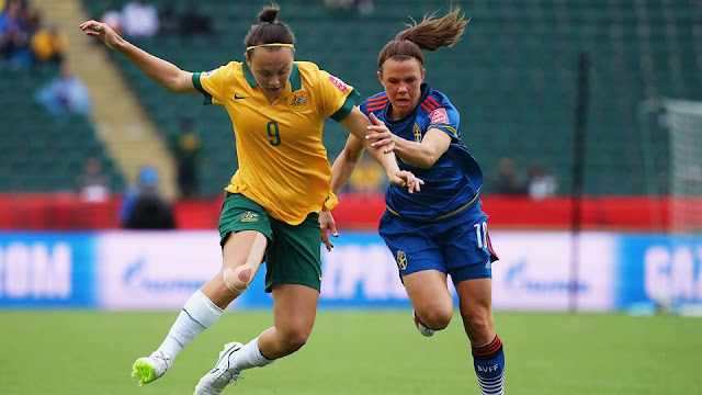 Highlights Australia 1 – 1 Sweden (Women World Cup)