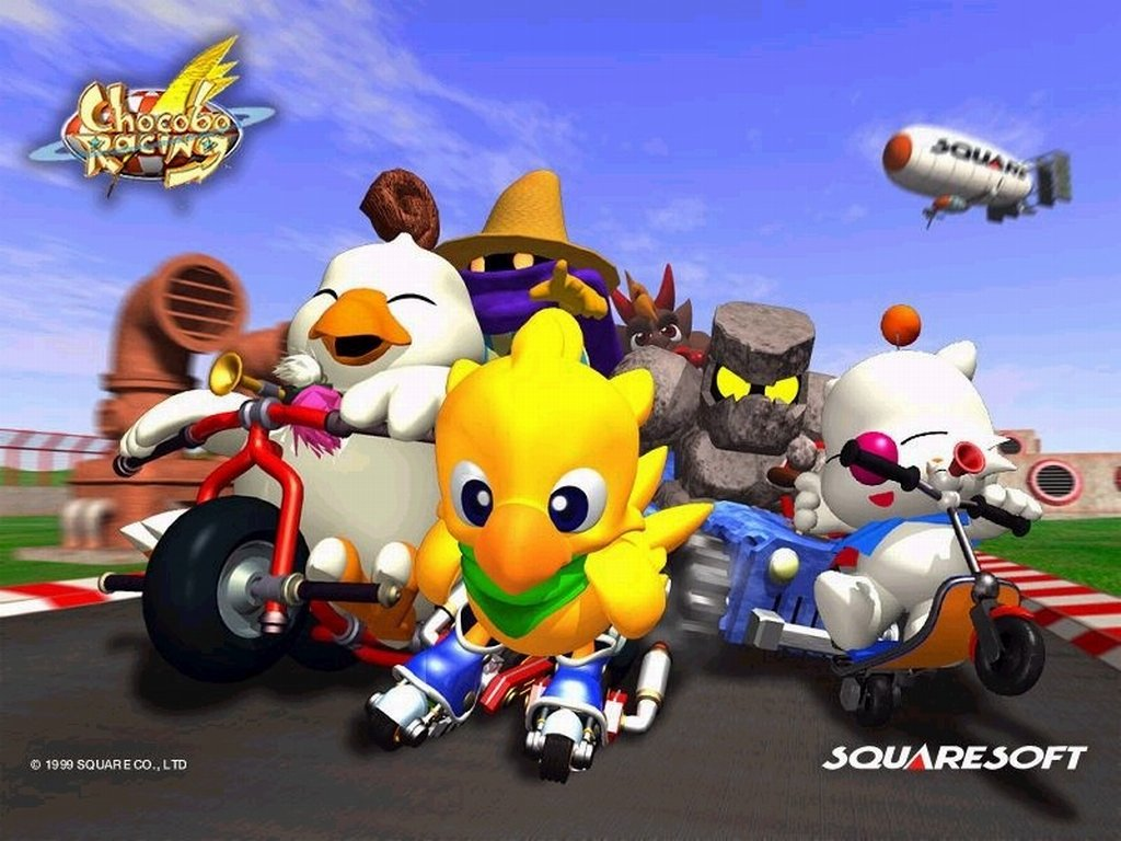 เกมส์ PS1 : Chocobo Racing (U)
