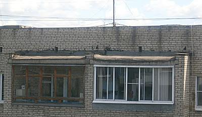 Как защитить крышу лоджии