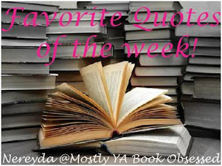 Favorite Quotes of the Week! (3)